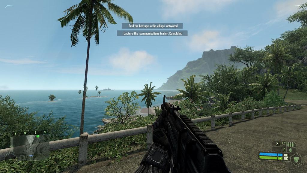Gameplay Crysis