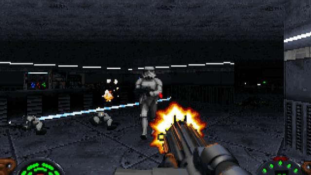Star Wars: Dark Forces. Walka z żołnierzem Imperium